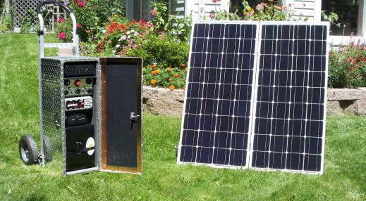 Quantum Harvest Model 2500 EMP-protected Solar Generator