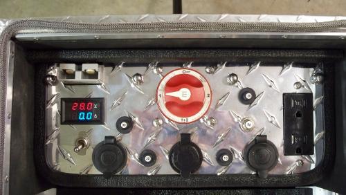 Quantum Harvest Model 2550 Control Panel