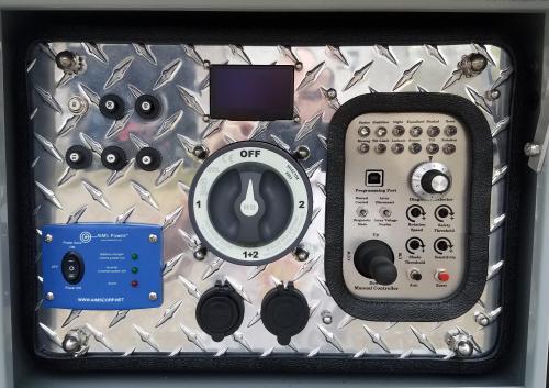 Model ST 6000 control panel